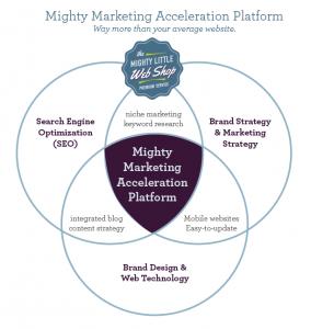 Mighty Marketing Acceleration Platform Venn Diagram