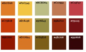 Color ideas, WordPress