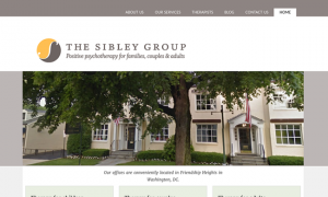 Sibley Group web design