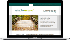 Mindful Mentor website