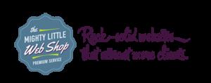 Mighty Little Web Shop - Rock Solid Websites logo