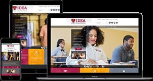 IDEA Public Charter mockup